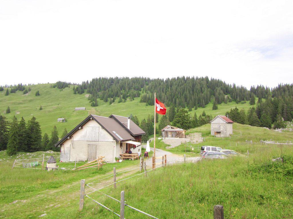 Alp Feldredeten ob Siebnen