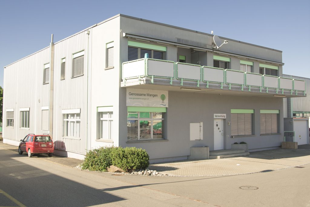 Werkhof Genossame im Leuholz Wangen